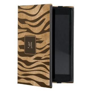 ジャングルのプリントの野生動物のカスタムのモノグラム iPad MINI ケース