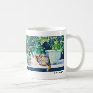 ジャングルのマグ コーヒーマグカップ