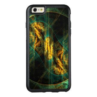 ジャングルの抽象美術の目 オッターボックスiPhone 6/6S PLUSケース