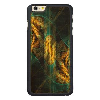ジャングルの抽象美術の目 CarvedメープルiPhone 6 PLUS スリムケース