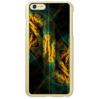 ジャングルの抽象美術の目 INCIPIO FEATHER SHINE iPhone 6 PLUSケース