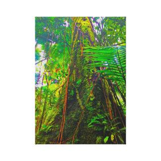 ジャングルの木 キャンバスプリント