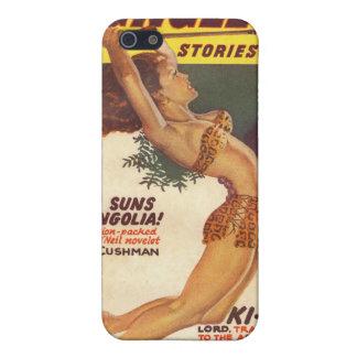 ジャングルの物語のパルプカバー1947年-ヴィンテージ iPhone 5 ケース
