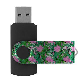 ジャングルの花が付いている熱帯パターン USBフラッシュドライブ