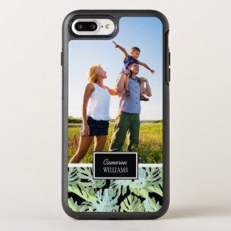 ジャングルの花パターン|はあなたの写真を加えましたり及び示します オッターボックスシンメトリーiPhone 8 PLUS/7 PLUSケース