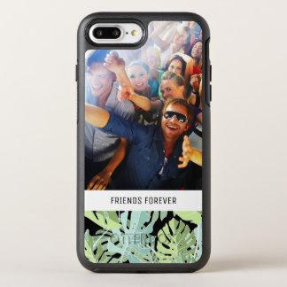 ジャングルの花パターン|はあなたの写真及び文字を加えます オッターボックスシンメトリーiPhone 8 PLUS/7 PLUSケース