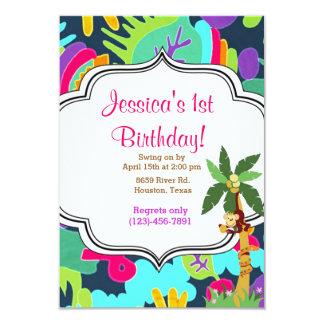 ジャングルの誕生日 カード