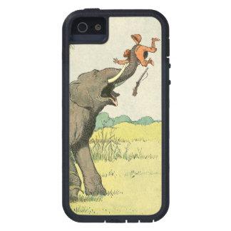 ジャングルの象そして密猟者 iPhone SE/5/5s ケース
