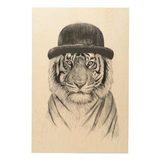 ジャングルへの歓迎 ウッドウォールアート