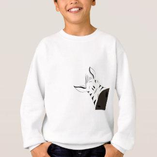 ジャングルを通って這うこと: キリンシマウマ スウェットシャツ
