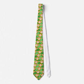 ジャングル猿、表面 オリジナルネクタイ