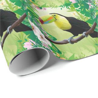 ジャングル2の包装紙 ラッピングペーパー
