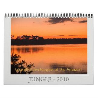 ジャングル- 2010年の美しい景色… カレンダー