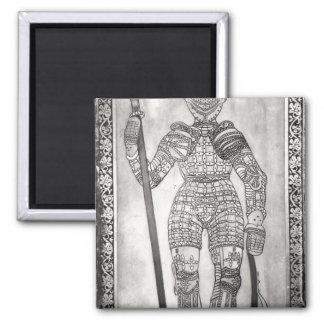 ジャンヌダルクの装甲を描写するプラク マグネット