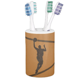 ジャンプショットのバスケットボールのバスセット バスセット
