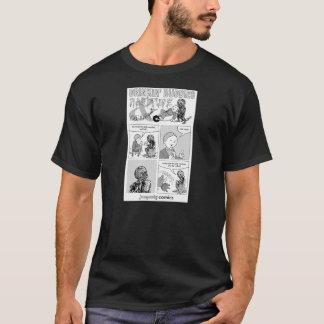 ジャンプスーツの飲む相棒のワイシャツ Tシャツ