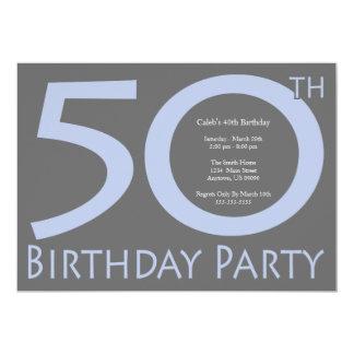 ジャンボは誕生会に番号を付けます(紫色/灰色) カード