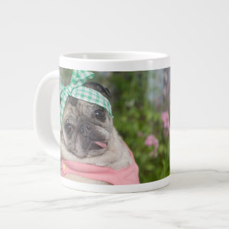 ジャンボまたはエスプレッソのサイズあtifulパグのマグ ジャンボコーヒーマグカップ