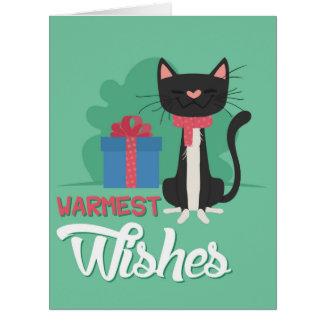 ジャンボメリーなペットクリスマスカード ビッググリーティーングカード