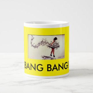 ジャンボ黄色いマグ ジャンボコーヒーマグカップ