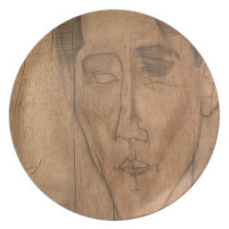 ジャン・コクトーのポートレート(1889-1963年) 1917年(鉛筆 プレート