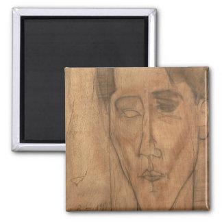 ジャン・コクトーのポートレート(1889-1963年) 1917年(鉛筆 マグネット