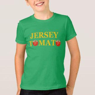 ジャージーのトマトの子供のTシャツ Tシャツ