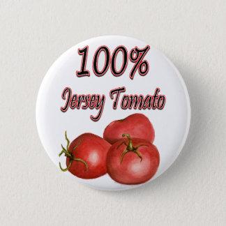ジャージーのトマト100%年 5.7CM 丸型バッジ