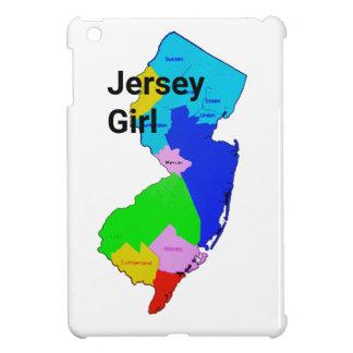 ジャージーの女の子のカラフル iPad MINIカバー