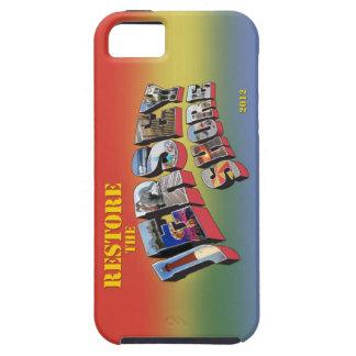 ジャージーの海岸のiPhone 5カバーを元通りにして下さい iPhone SE/5/5s ケース