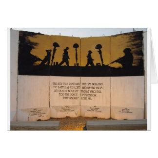 ジャージーの障壁の記念物またはガーフィールドの引用文 カード