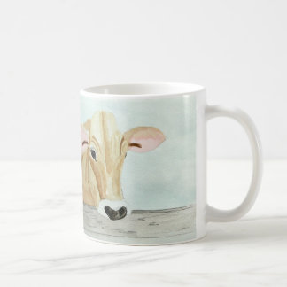 """ジャージー牛および""""必要性のクリームか。「 コーヒーマグカップ"""