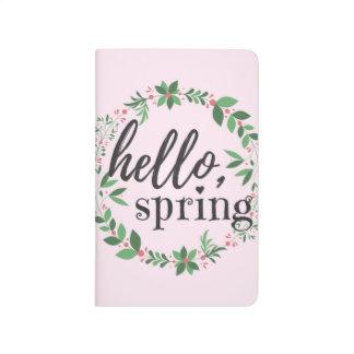 ジャーナル-こんにちは、春 ポケットジャーナル