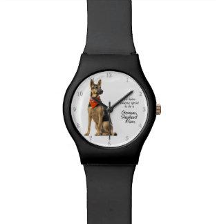 ジャーマン・シェパードのお母さんの腕時計 腕時計