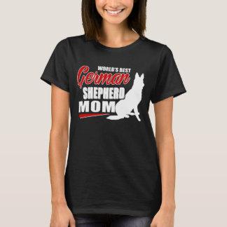 ジャーマン・シェパードのお母さん Tシャツ