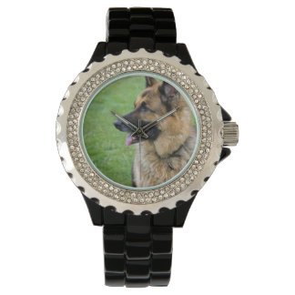 ジャーマン・シェパードのプロフィール 腕時計