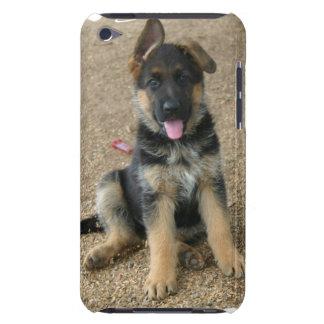 ジャーマン・シェパードの子犬のiTouchの場合 Case-Mate iPod Touch ケース