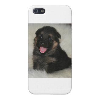 """ジャーマン・シェパードの子犬は""""想像します"""" iPhone 5 カバー"""