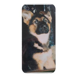 ジャーマン・シェパードの子犬 iPhone 5 COVER