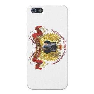 ジャーマン・シェパードの所有者のiPhoneの場合 iPhone 5 カバー