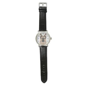 ジャーマン・シェパードの漫画 腕時計