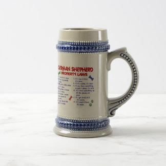 ジャーマン・シェパードの特性の法律2 ビールジョッキ