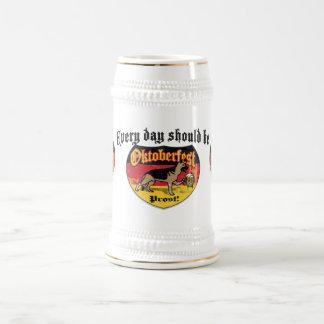 ジャーマン・シェパードのBierの猟犬 ビールジョッキ
