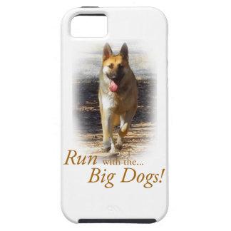ジャーマン・シェパード大きい犬のIPhoneカバー iPhone SE/5/5s ケース