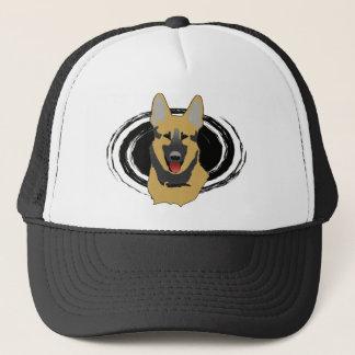 ジャーマン・シェパード犬の帽子 キャップ