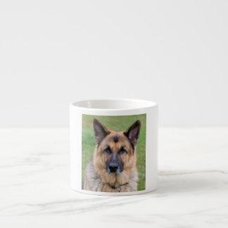 ジャーマン・シェパード犬の美しい写真のエスプレッソのマグ エスプレッソカップ