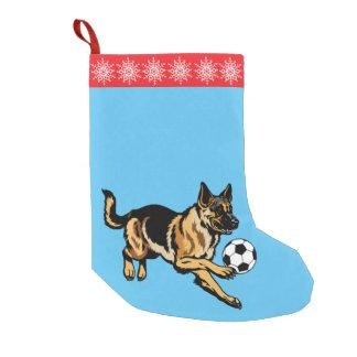 ジャーマン・シェパード犬 スモールクリスマスストッキング