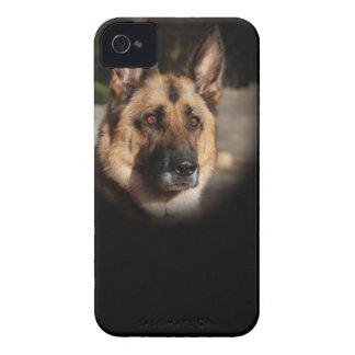 ジャーマン・シェパード犬 Case-Mate iPhone 4 ケース