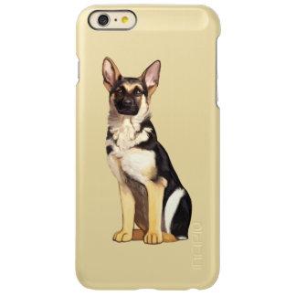 ジャーマン・シェパード犬 INCIPIO FEATHER SHINE iPhone 6 PLUSケース