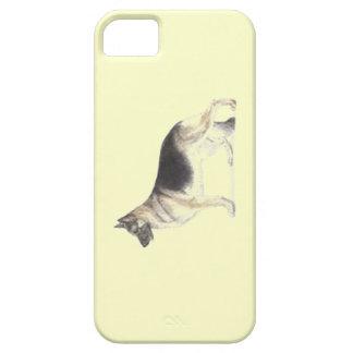 ジャーマン・シェパード犬 iPhone SE/5/5s ケース